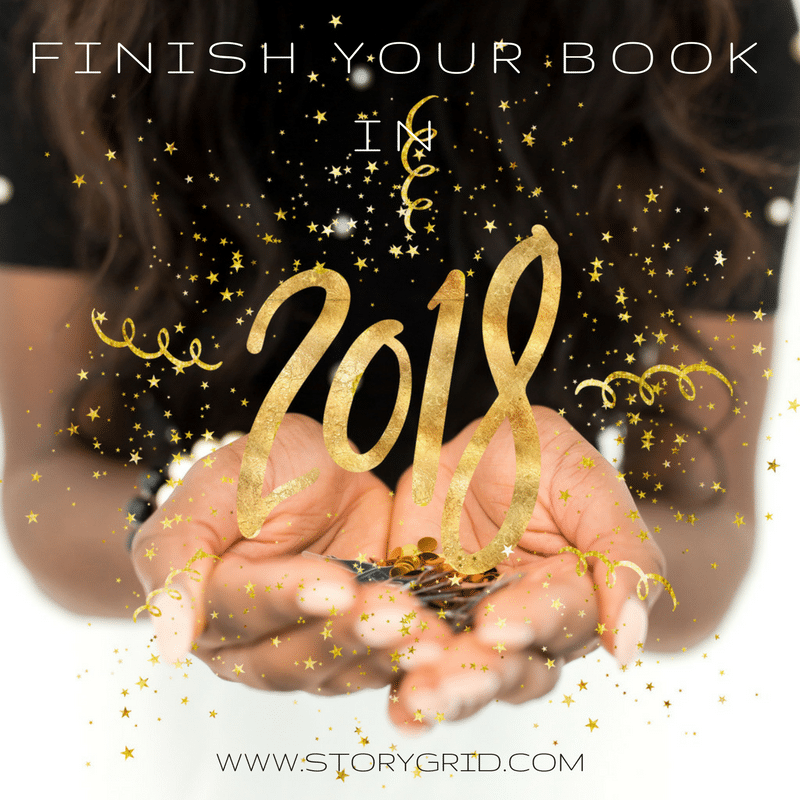 Finish Your Book in 2018