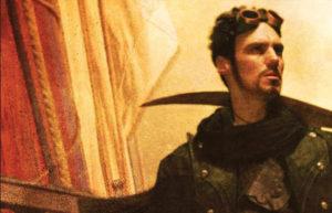 Cover art from Jim Butcher's novel The Aeronaut's Windlass