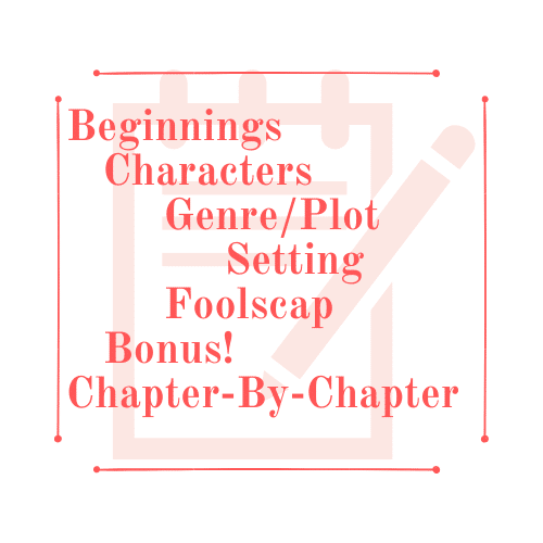 Characters, Plot, Setting, Chapters