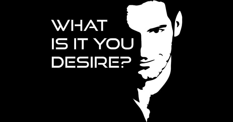 """TV's Lucifer--""""What Is It You Desire?"""""""