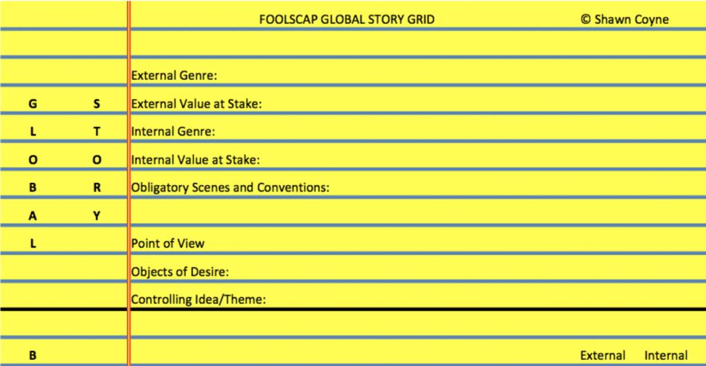 Foolscap Outline for a Novel