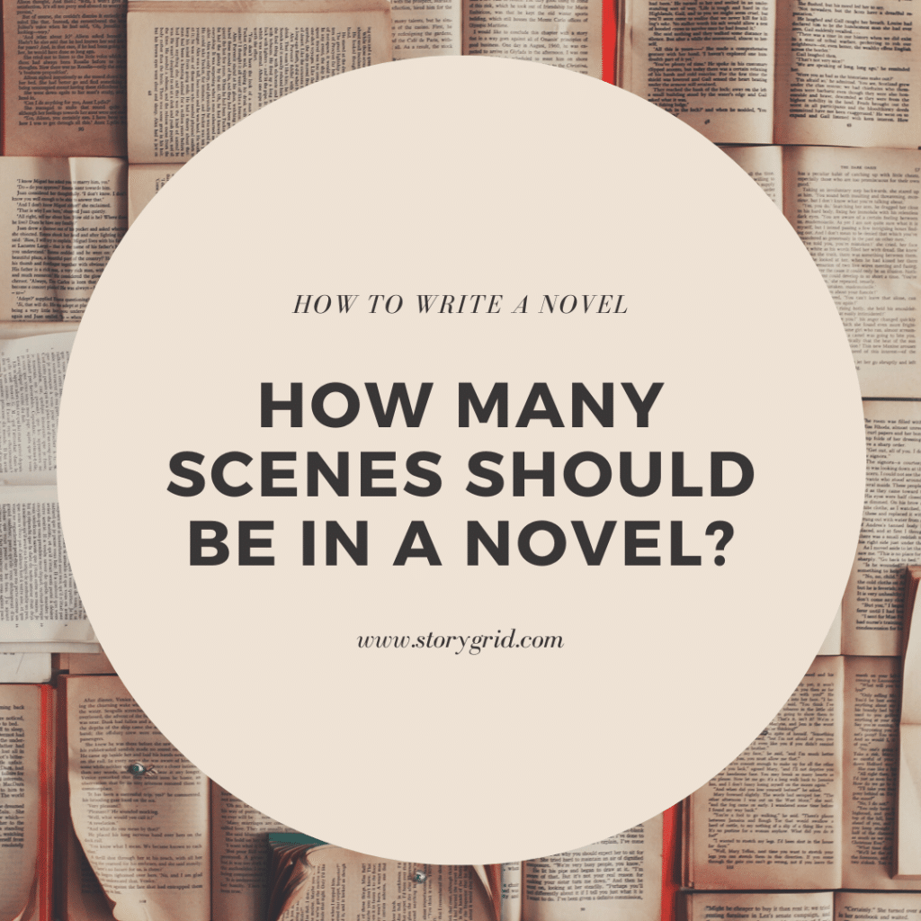How Many Scenes in a Novel?
